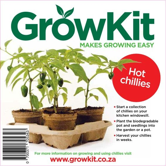 GrowKit Hot Chillies