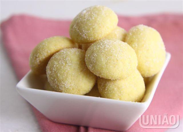 Bolachinha de maracuja / passion fruit cookies