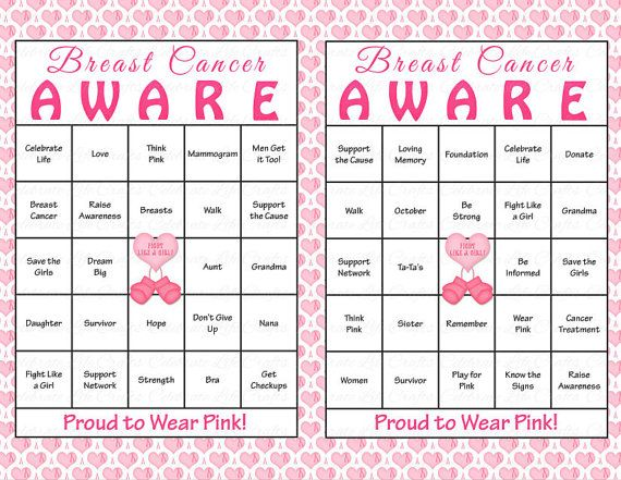 Breast Cancer Awareness - Crossword Puzzle