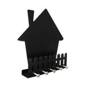 O Porta-Chaves Doce Lar é muito útil. Mantém suas chaves sempre a mão, além de organizar as correspondências. Sua casa merece este presente!