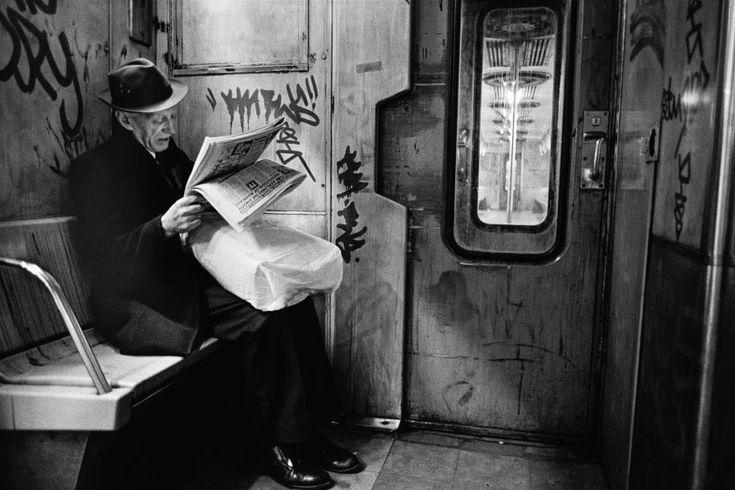 Subway Noir, NYC, 1986 (Richard Sandler)
