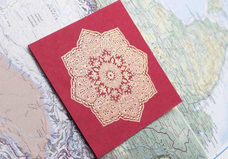 #elvinpaper #elvinshop #handmadepaper #mandala #greetingcard #colours #elvintravels #beoriginal