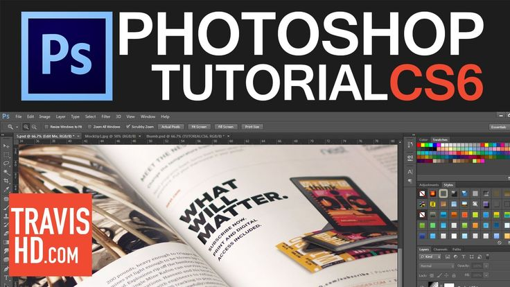 This tutorial will show you how to create your own magazine mock up in Photoshop using smart object, smart filters and some lighting techniques. With this mo...