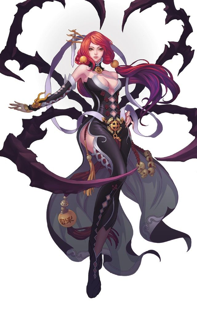 Female Mage Character Design Character Art Game Character Design