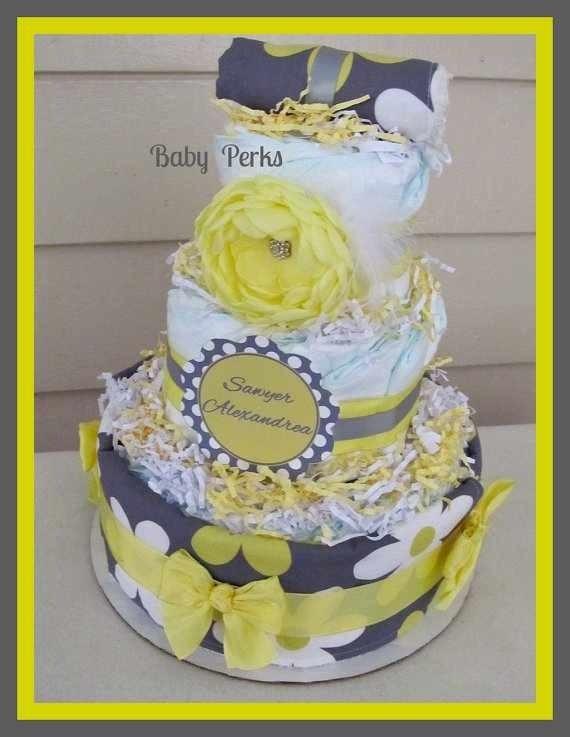 Diy Baby Shower Cake