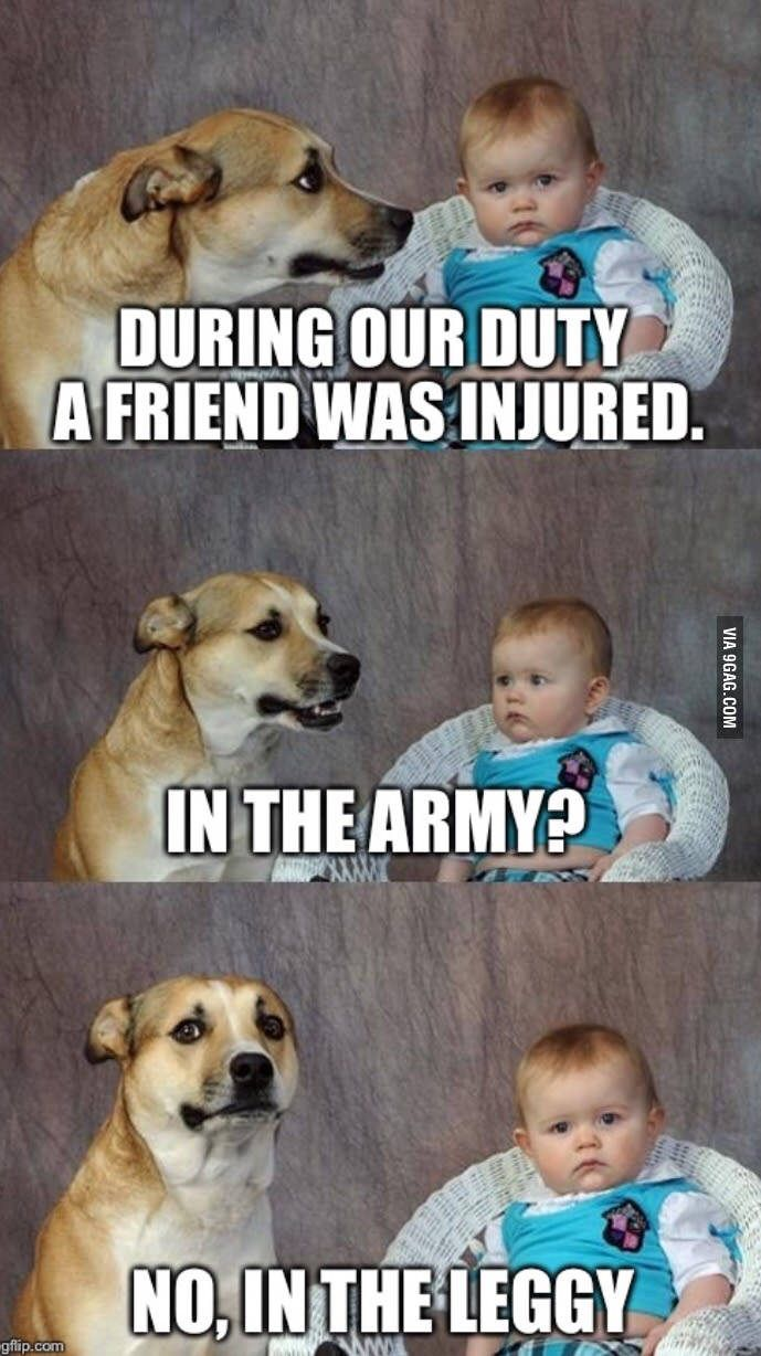 Back in the days..(just a flesh wound) - 9GAG