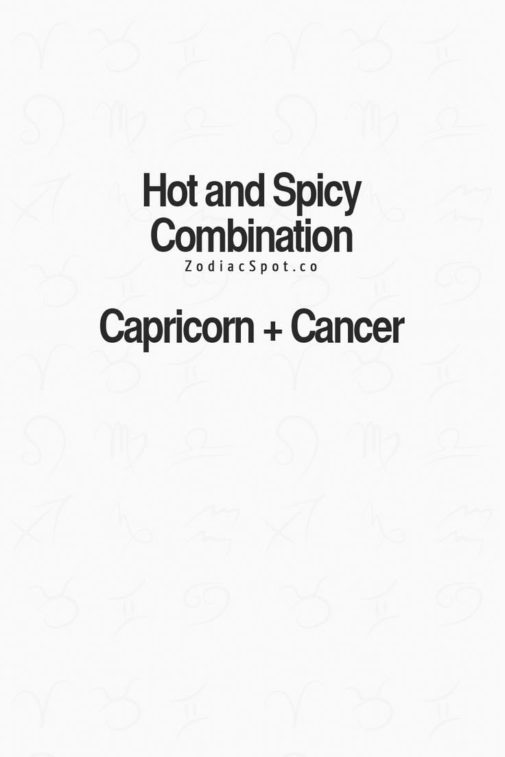 cancer and capricorn relationship 2012