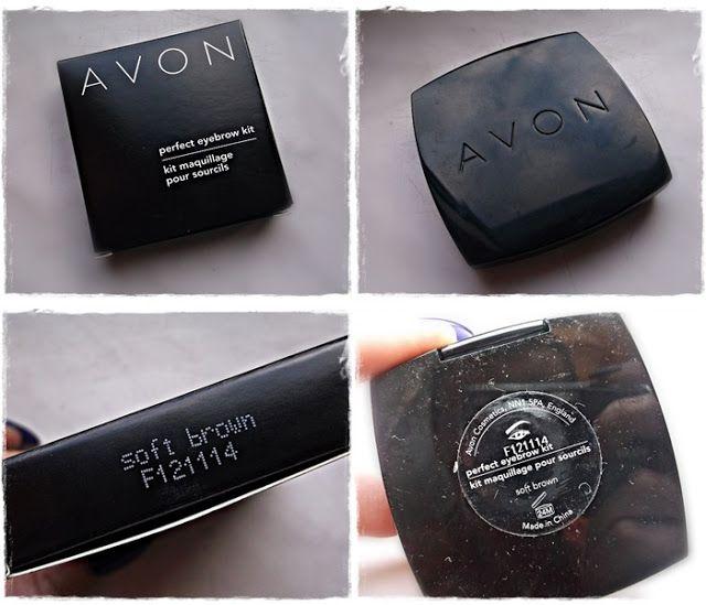 Blog Anki: Avon - Zestaw do stylizacji brwi