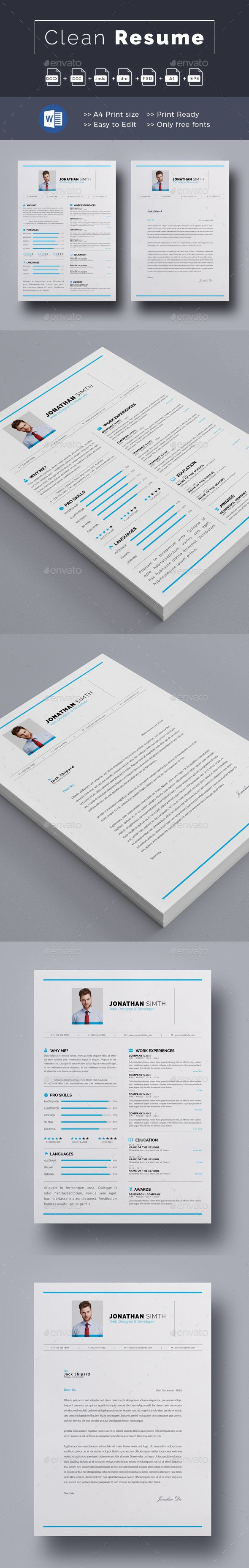 Resume 1563 best Resume Design Templates images
