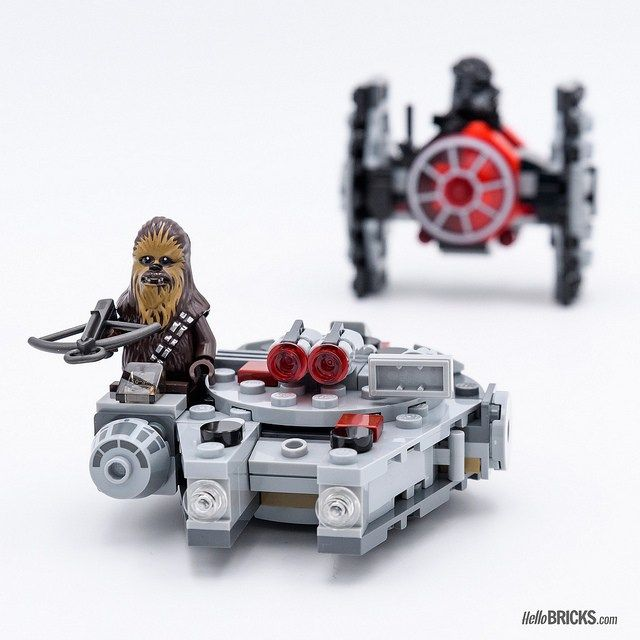 LEGO® Star Wars™ 75193 Millennium Falcon™ Microfighter Baukästen & Konstruktion LEGO Baukästen & Sets