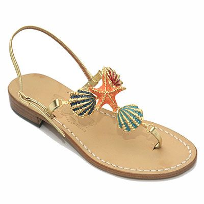 """The word """"sandal"""" does not do these babies justice. """"Jewelry for your feet"""" is more like it."""