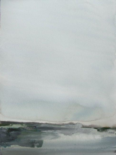Koen Lybaert - Vestfirðir - watercolor on paper [40 x 30] / 2013