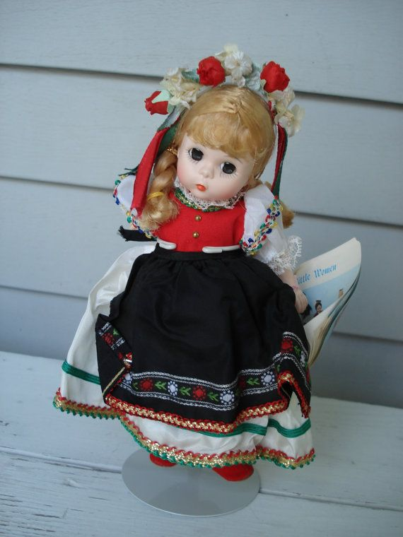 Madame Alexander Poland Polish Doll ... I had this very one. My grandma gave us one every Christmas and we ruined them by playing with them all the time ... sad