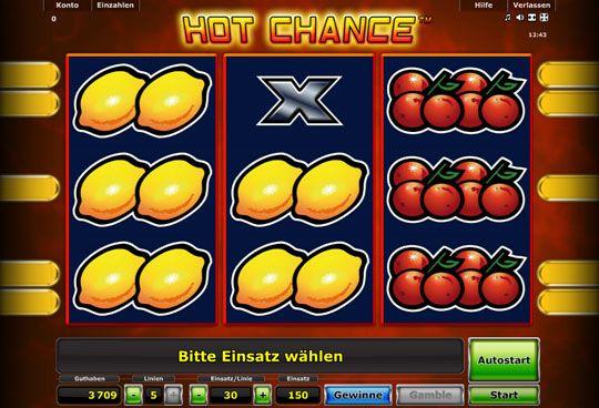mit hot chance aus der novoline serie gibt es wieder einen fantastischen online slot aus dem hause stargames.