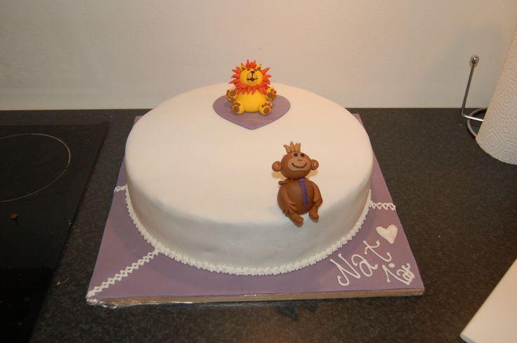Lion & Abe Birthsday Cake