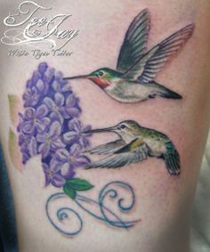 lilac Tattoos for Women | Don't forget to follow us on Facebook!