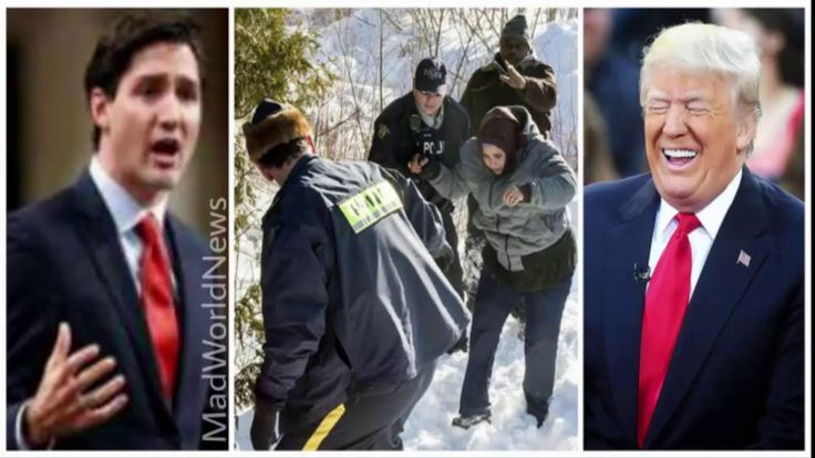 "Trump-Hating Canadian Gov ""Rescued"" 3,500 Illegals From U.S., There's Ju..."