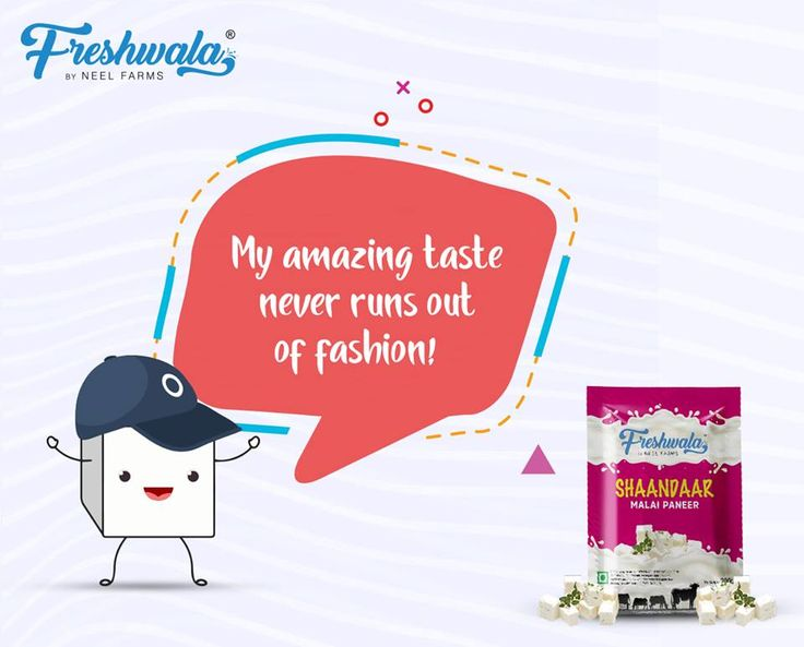 My amazing taste never runs out of fashion.  #Freshwala #Paneer #Shaandaar #Hunger