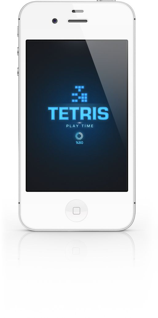 TETRIS - App İOS by Cüneyt ŞEN, via Behance