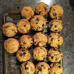 Saskatoon Berry Oat Muffins - Allrecipes.com