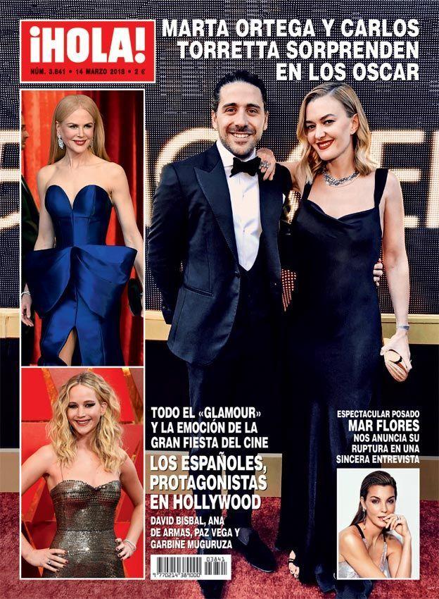 Marta Ortega en los Oscar