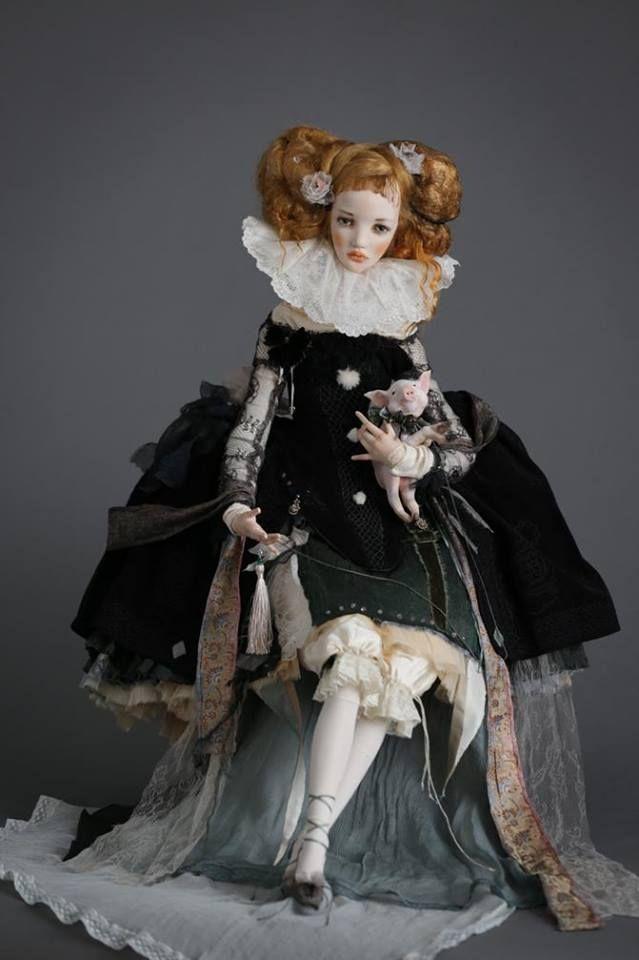 Art doll by Alisa Filippova 8 March  ·