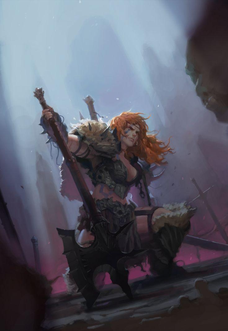 Barbarian by aobtd88 on deviantART #barbarian