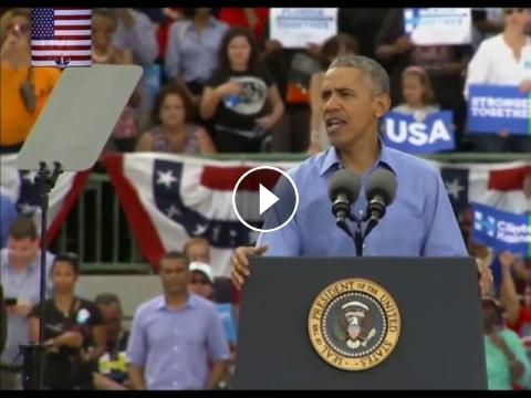 President Obama Speech Today 11/6/16 Campaigns For Hillary Clinton in Kissimmee, Florida: Please Subscribe & Share