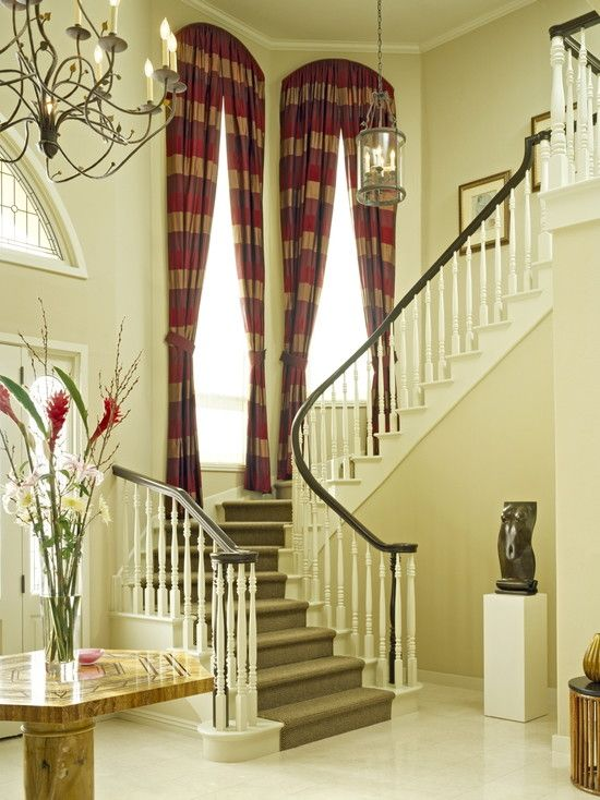 Arch Window Treatment Design Pictures Remodel Decor And Ideas