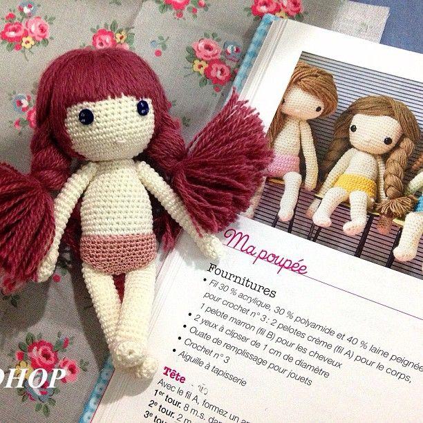 mini doll crochet