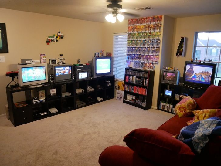 Dat Game Room Via Reddit User Talkurt