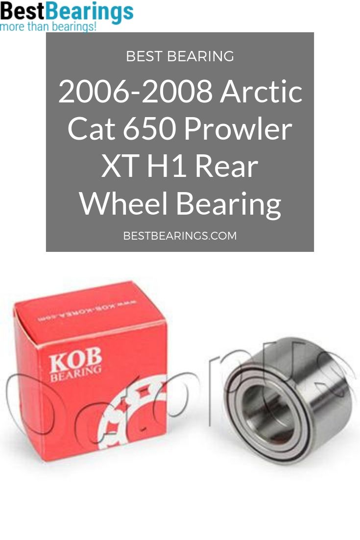 2008 Arctic Cat 650 ATV Prowler XT H1 Bearing for Rear Wheel 2006-2007