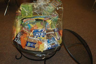 Backyard Fun Basket Idea Firepit Smores Supplies Etc