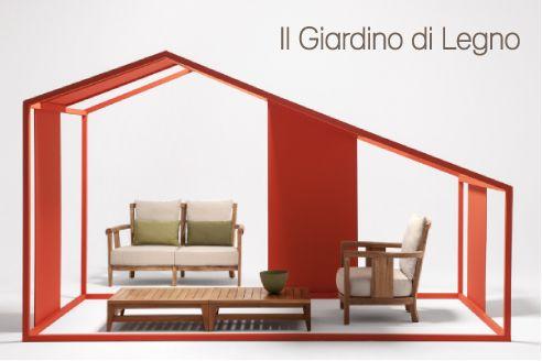 prezzi terrazze in legno x case mobili : Mobili da giardino in legno e di design