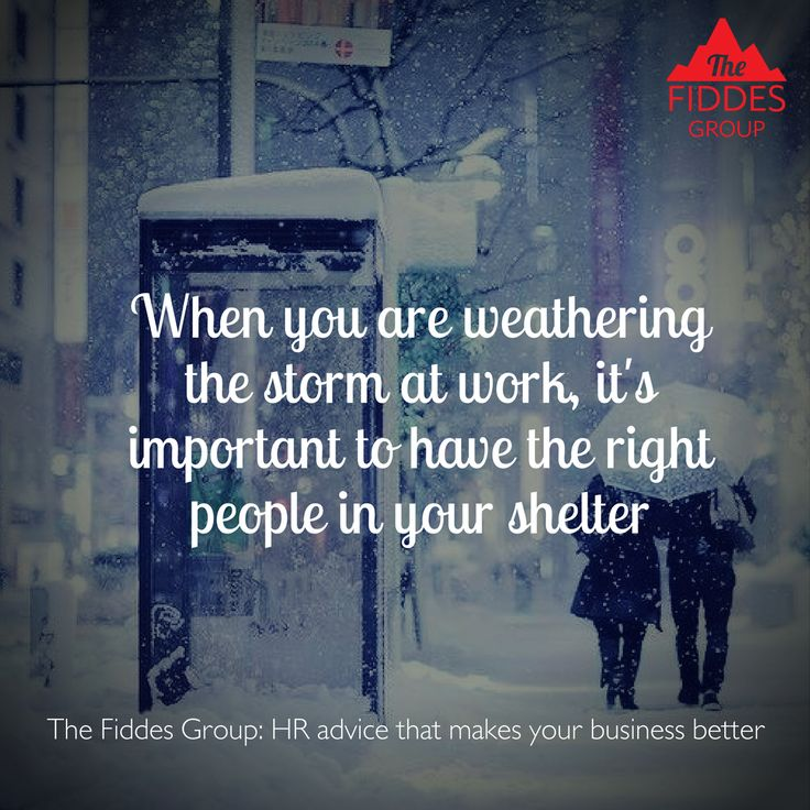 Remember to build your team with people who you want to shelter from the storm with. #kindness #thefiddesgroup #humanresourcesmanagement #melbournehr #australianhr #kindnessintheworkplace #weatherthestorm #buildyourteamwisely #hrstrategy