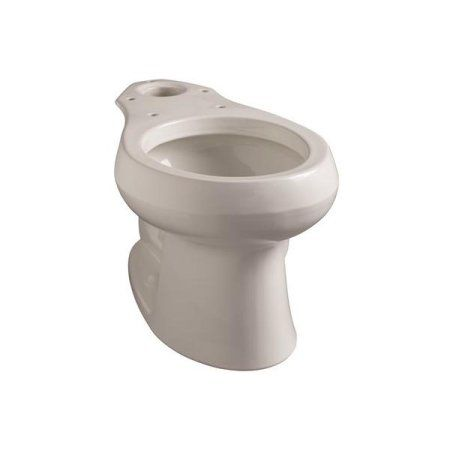 Kohler Wellworth Round Front Toilet Bowl With 12 In. Rough, White - 109710