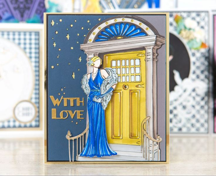 Beautiful Card Making Ideas Using Tattered Lace Dies Part - 12: Make Timeless And Elegant Card Designs With The @tatteredlaceuk Art Deco  Range! / Cardmaking. Art Deco CardsTattered Lace ...