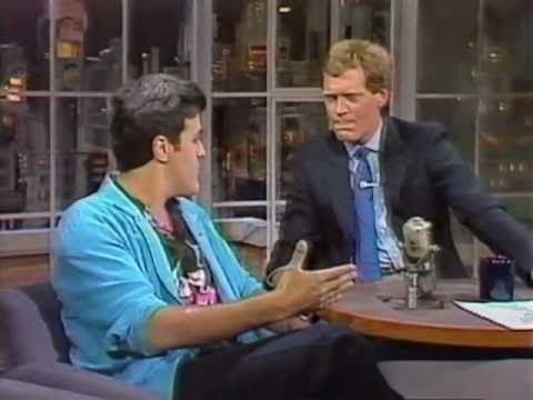 Leno on Late Night with David Letterman