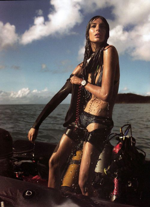 Daria Werbowy | Mickael Jansson | Vogue Paris May 2007