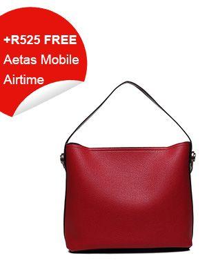 Ladies Shopper Bag Red – Babble & Buy