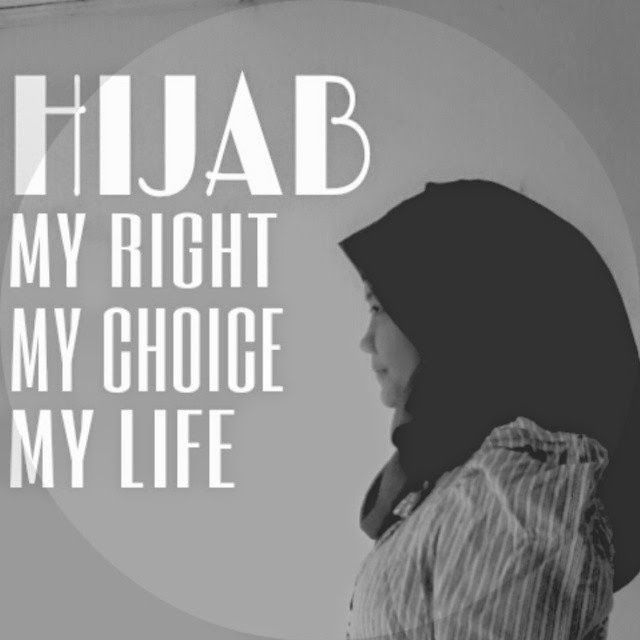 Hijab is My right 😊