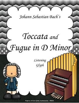 Are you needing a unique art music listening piece for the upcoming spooky music season? Yes, even some of the greatest genius composers of all time loved a good scare every now and then. With this kid friendly listening glyph of Bach's famous spooky Toccata & Fugue in D Minor, you students will be sure to become instantly engaged in the thrill of the music as they are responding appropriately to the presented tasks required of them on the glyph.