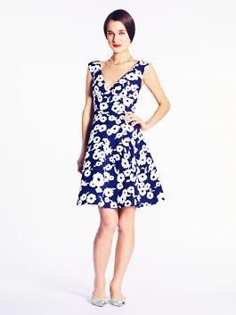 picnic floral martin dress