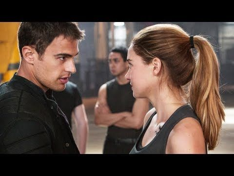 Divergent trailer!!!! I saw this on the MTV music awards and I FREAKED OUT right there, wrapped up in my cozy blanket and everything!!!!!;)