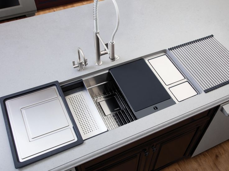 CHEF CENTER SINKS - STAINLESS STEEL - Kitchen sinks from Franke Kitchen Systems   Architonic