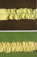 Patrones de Costura: TUTORIAL DE VOLANTE CON CABECILLA