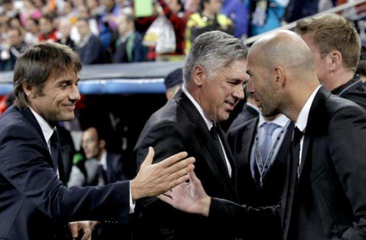 Carlo Ancelotti: Antonio Conte Luar Biasa, Zinedine Zidane Berkualitas -  https://www.football5star.com/liga-spanyol/real-madrid/carlo-ancelotti-antonio-conte-luar-biasa-zinedine-zidane-berkualitas/100665/
