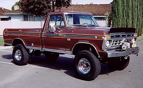 1974 f250 highboy truck | F250 PICKUP, 78 crewcab 4x4 ,460,newtrans, clutch, etc.etc.,this truck ...