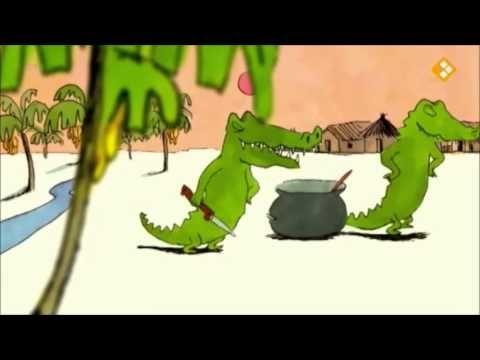 Ik zou wel een kindje lusten (digitaal prentenboek) Kleine krokodil wil op een dag geen bananen meer eten, maar heeft meer trek in een kindje.