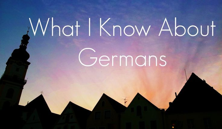 Here are some things about Germany and its inhabitants I have noticed during my time spent here, living in Münster, North Rhine-Westphalia, Weiden in der Oberpfalz, Bavaria and Kiel, Schleswig-Hols…